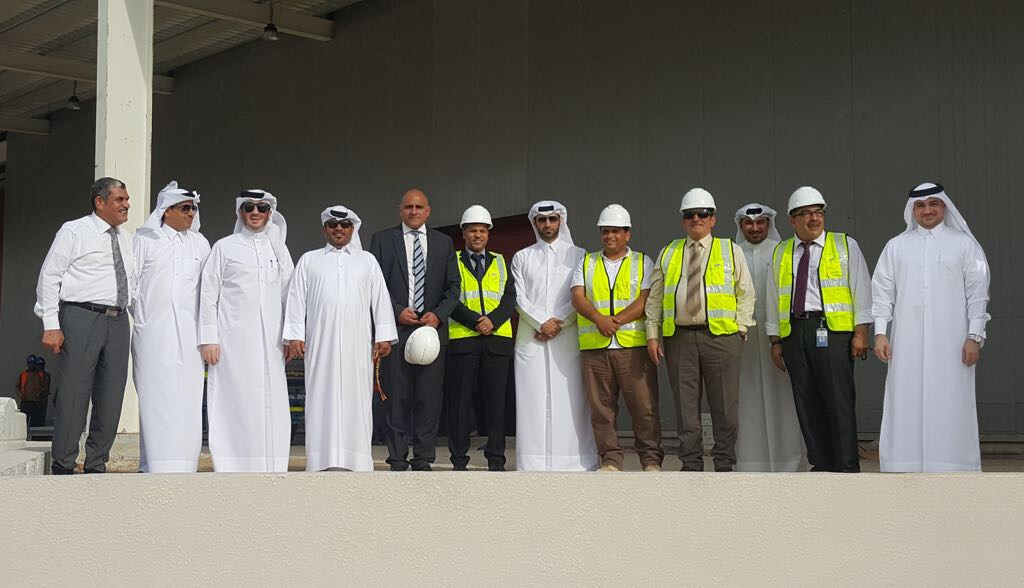 CEO of Manateq visit to Mustawdaat project in Umm Shaharin